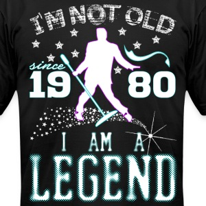 I AM A LEGEND-1980 T-Shirts - Men's T-Shirt by American Apparel