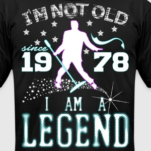 I AM A LEGEND-1978 T-Shirts - Men's T-Shirt by American Apparel