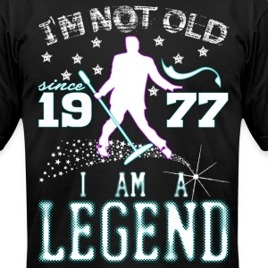 I AM A LEGEND-1977 T-Shirts - Men's T-Shirt by American Apparel