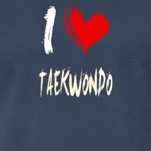 I love TAEKWONDO - Men's Premium T-Shirt