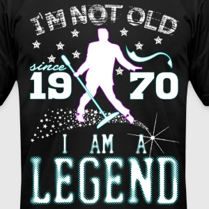 I AM A LEGEND-1970 T-Shirts - Men's T-Shirt by American Apparel