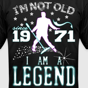 I AM A LEGEND-1971 T-Shirts - Men's T-Shirt by American Apparel