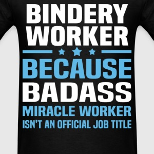 Bindery Worker Tshirt - Men's T-Shirt