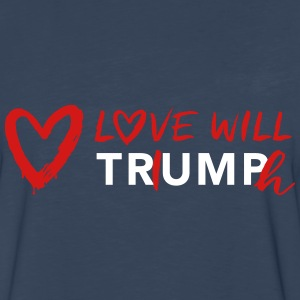 Love Will TRiUMPh Long Sleeve Shirts - Men's Premium Long Sleeve T-Shirt
