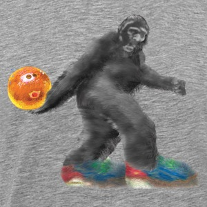 BIGFOOT Bowling!!!   - Men's Premium T-Shirt