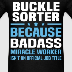 Buckle Sorter Tshirt - Men's T-Shirt