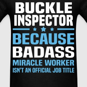 Buckle Inspector Tshirt - Men's T-Shirt
