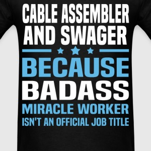 Cable Assembler And Swager Tshirt - Men's T-Shirt