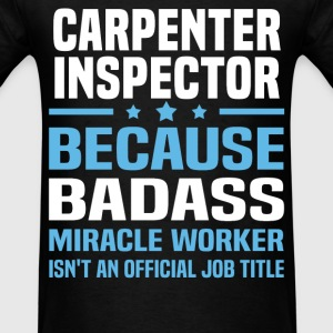 Carpenter Inspector Tshirt - Men's T-Shirt