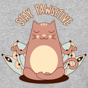 Stay pawsitive - Baseball T-Shirt