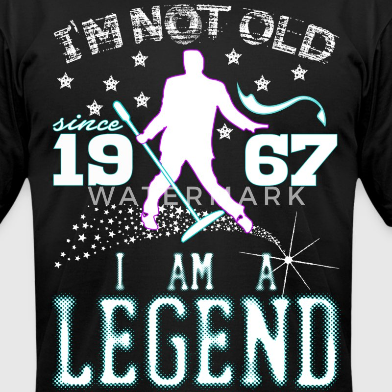 I AM A LEGEND-1967 T-Shirts - Men's T-Shirt by American Apparel