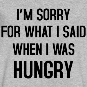 I'm sorry for what i said T-Shirts - Men's V-Neck T-Shirt by Canvas