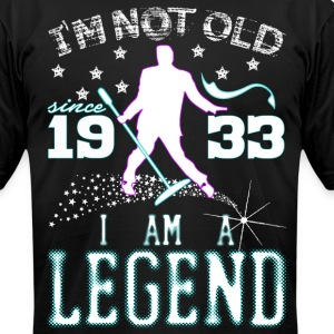 I AM A LEGEND-1933 T-Shirts - Men's T-Shirt by American Apparel