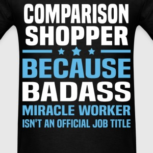 Comparison Shopper Tshirt - Men's T-Shirt