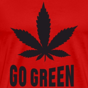 Weed Go Green T-Shirts - Men's Premium T-Shirt