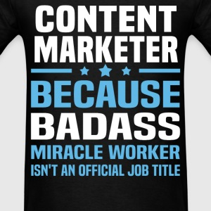 Content Marketer Tshirt - Men's T-Shirt