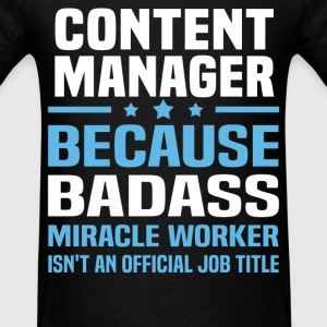 Content Manager Tshirt - Men's T-Shirt