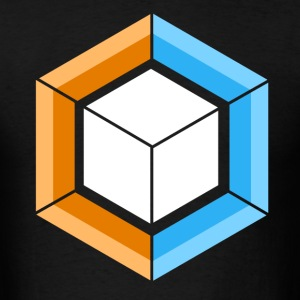 Hexagon_Cube - Men's T-Shirt