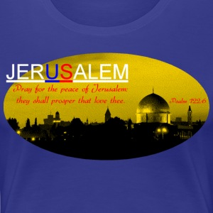JERUSALEM - Women's Premium T-Shirt