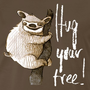 hug your tree T-Shirts - Men's Premium T-Shirt