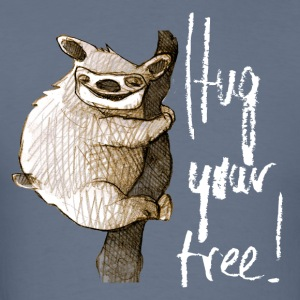 hug your tree T-Shirts - Men's T-Shirt