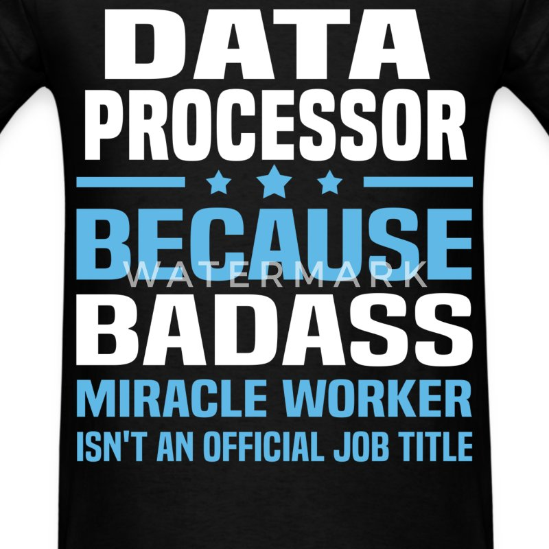 Data Processor Tshirt - Men's T-Shirt