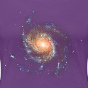 Space - Spiral Galaxy Messier 101 T-Shirts - Women's Premium T-Shirt