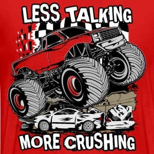 Monster Truck Crush T-Shirts - Men's Premium T-Shirt