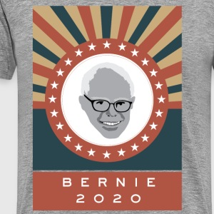 Bernie-for-Pres-2020 T-Shirts - Men's Premium T-Shirt