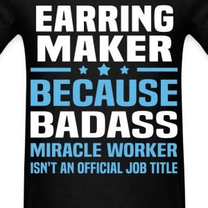 Earring Maker Tshirt - Men's T-Shirt
