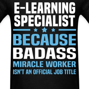 E-Learning Specialist Tshirt - Men's T-Shirt