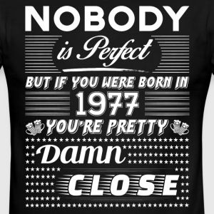 IF YOU WERE BORN IN 1977 T-Shirts - Men's Ringer T-Shirt