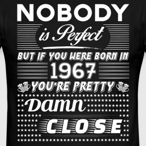 IF YOU WERE BORN IN 1967 T-Shirts - Men's Ringer T-Shirt