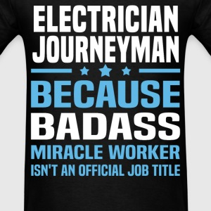 Electrician Journeyman Tshirt - Men's T-Shirt