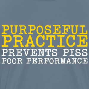 Purposeful Practice t-shirt - Men's Premium T-Shirt