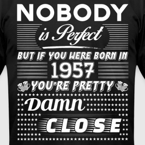 IF YOU WERE BORN IN 1957 T-Shirts - Men's T-Shirt by American Apparel