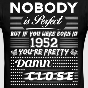 IF YOU WERE BORN IN 1952 T-Shirts - Men's Ringer T-Shirt