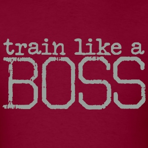 train like a BOSS t-shirt - Men's T-Shirt