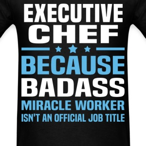 Executive Chef Tshirt - Men's T-Shirt