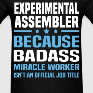 Experimental Assembler Tshirt - Men's T-Shirt