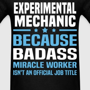 Experimental Mechanic Tshirt - Men's T-Shirt