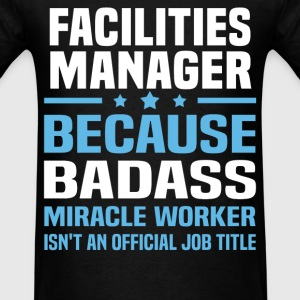 Facilities Manager Tshirt - Men's T-Shirt
