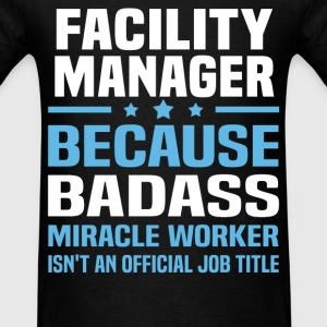 Facility Manager Tshirt - Men's T-Shirt
