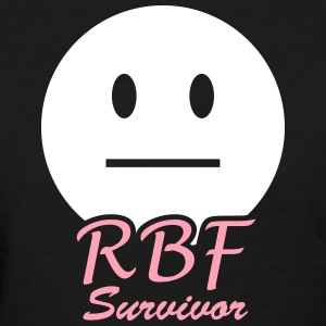 RBF (Resting Bitch Face) Survivor Tee - Women's T-Shirt