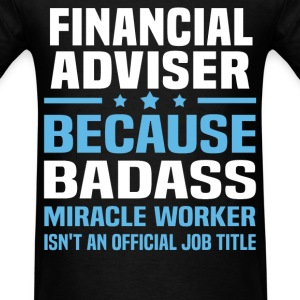 Financial Adviser Tshirt - Men's T-Shirt