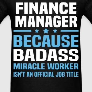 Finance Manager Tshirt - Men's T-Shirt