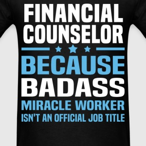 Financial Counselor Tshirt - Men's T-Shirt