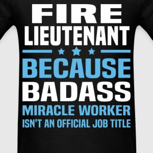 Fire Lieutenant Tshirt - Men's T-Shirt