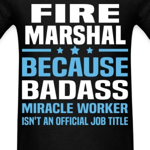 Fire Marshal Tshirt - Men's T-Shirt