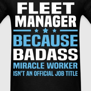 Fleet Manager Tshirt - Men's T-Shirt